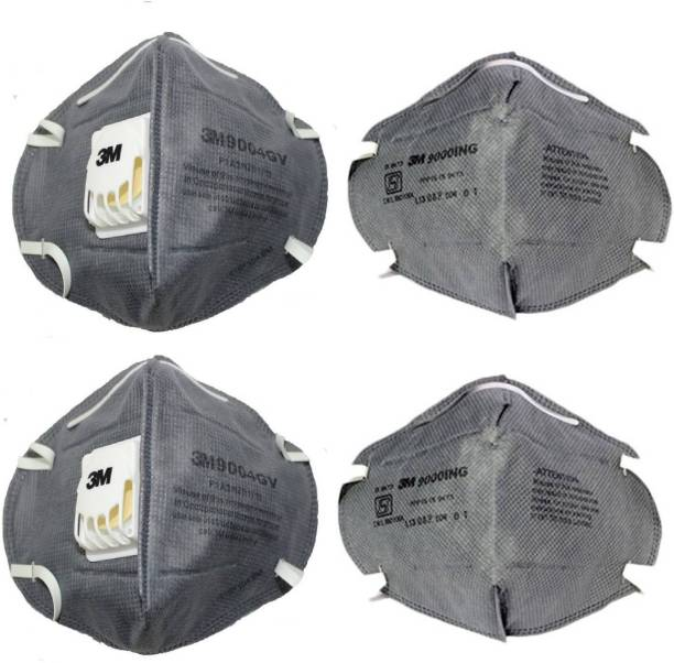 b6991f2875d 3M Particulate Respirator 9000ing And 9004GV Grey (Pack of 2) Mask and  Respirator