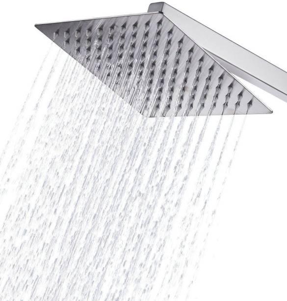 ANMEX 10x10 Ultra Slim Square Rain Shower Head with 24inch Arm ਸ਼ਾਵਰ ਹੈਡ