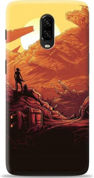 Loffar Back Cover for OnePlus 6T