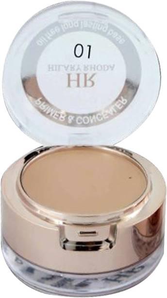 Hilary Rhoda HR-1314 ~ 2 In 1 Primer & Concealer ~ Oil Free Long Lasting Base Primer  - 5.2 g