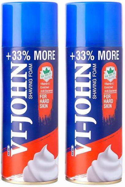 VI-JOHN Shave Foam for Hard Skin