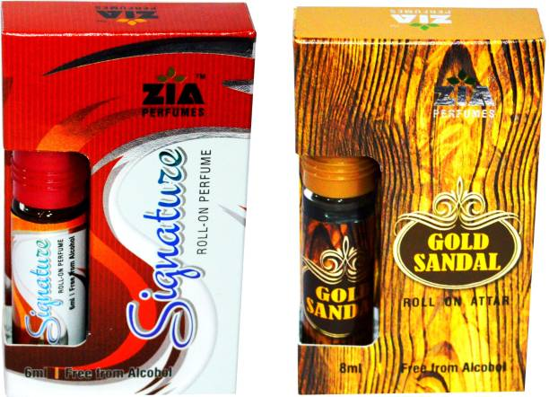 ZIA SIGNATURE and GOLD Sandal Special Malaysian Edition Floral Attar