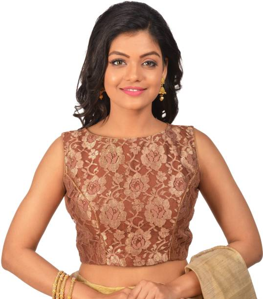 960bf2784331e Brown Blouses - Buy Brown Blouses Online at Best Prices In India ...