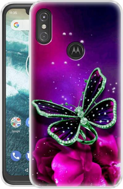 Fashionury Back Cover for Motorola Moto One Power