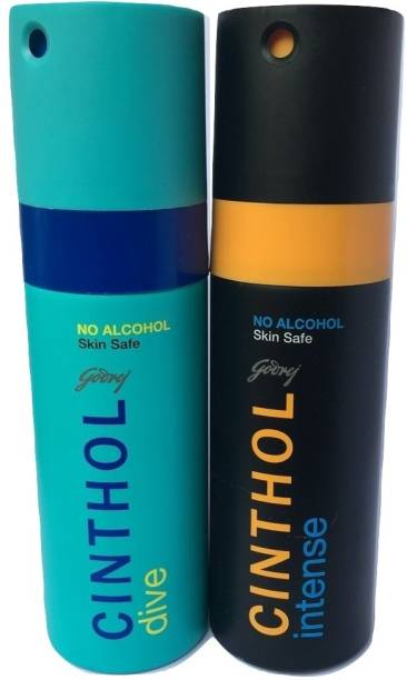 Cinthol INTENSE AND DIVE Deodorant Spray  -  For Men