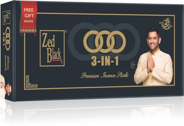 Zed Black 3 in 1 Monthly Pack Turbo, Arij