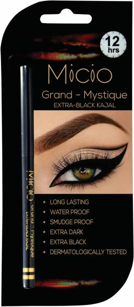 MICIO Grand Mystique Extra Black Kajal Water Proof