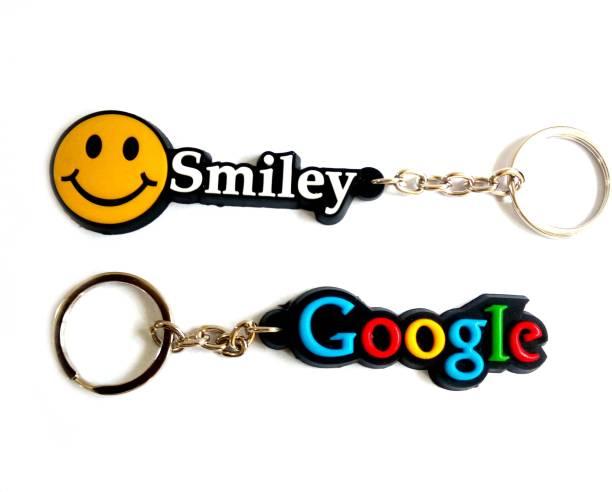 Google premium quality light weight single sided Key Chain