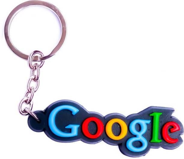 Google good quality light weight single sided Key Chain