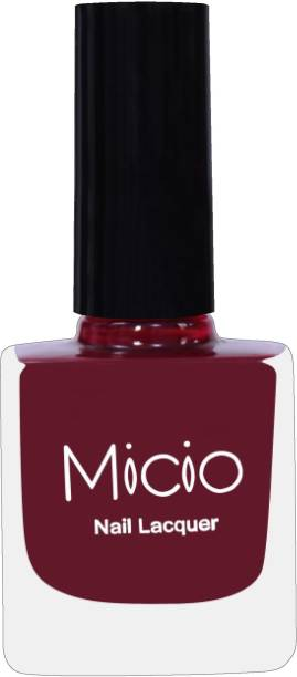 MICIO Luxurious Collection of Matte Color Nail Lacquer Plum