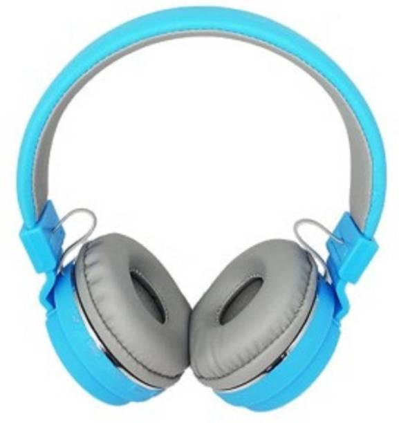 blue seed Wireless Bluetooth Headphone Clear Bass Headphone Bluetooth Headset