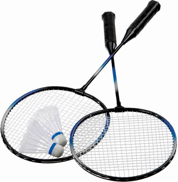 labh traders 2 badminton and shutlecocke Badminton Kit