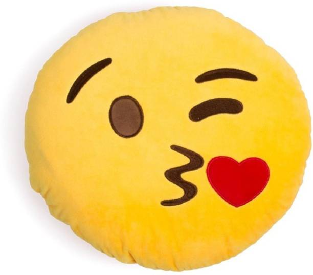 Twiddle Cotton Smiley Cushion Pack of 5