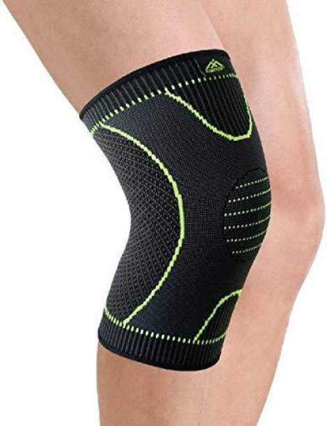34a7160ec4 AVMART Knee Compression; Sleeve Support (1 Pair) Knee Support (Free Size,