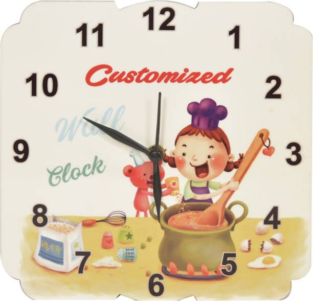 Value Adds Analog 2 Cm X 8 Wall Clock