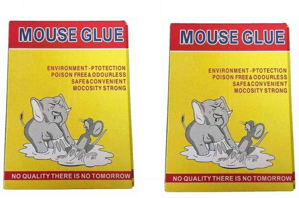 Vedy Rate Insect Rodent Lizard Trap Rat Catcher Adhesive Sticky Glue Pad (Mouse Glue Pad) - Non Poisonous - Non Toxic - Odourless - Rat Terminator Mouse trap glue | Mouse repellent for home | Mouse trap for big rats | Mouse kill glue| Mouse kill trap |