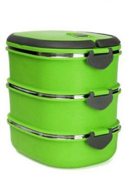 0c577bcea M MEGALITE NEW ARRIVAL Food Grade Stainless Steel Comfact Office Lunch Box  Tiffin Heat Resistance Container