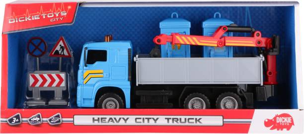 Dickie Heavy City Truck For Kids