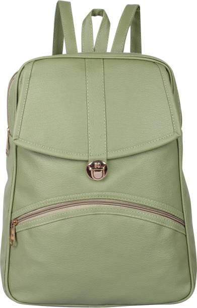 32e10449afc2 Rajni Fashion PU Leather Backpack School Bag Student Backpack Women Travel  bag Tuition Bag 12 L