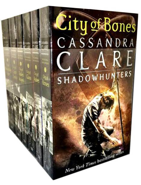 Cassandra Clare Mortal Instruments 6 Books Collection Pack Set-New