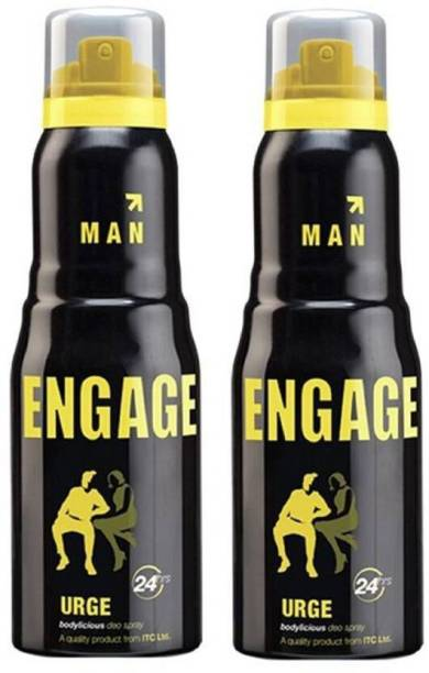 Engage 2 Urge Deodorant Spray  -  For Men