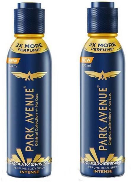 PARK AVENUE Good Morning Intense Perfumed Body Spray Deodorant Spray  -  For Men