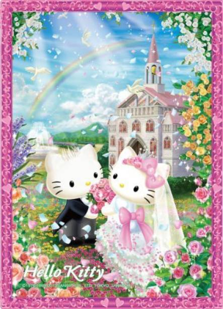 Hello Kitty Crystal Zigsaw Puzzle hello Kittey 165Piece Sweet Wedding CJP-004