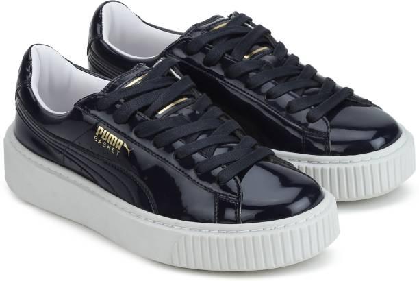 1ac08d473d937e Puma Basket Platform Patent Wn s Sneakers For Women