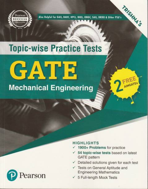 GATE MECHANICAL ENGINEERING TOPIC WISE- PRACTICE SETS
