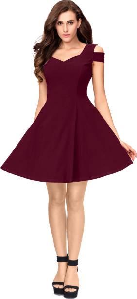 68bc1c4ab0d2 Skater Dresses Skirts - Buy Skater Dresses Skirts Online at Best ...