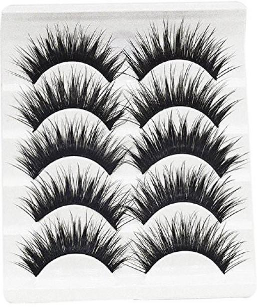 Black MagiDeal Cute Charming BJD Dolls Big Pretty Eye Make Up False Eyelashes Strip AS YOU PICK