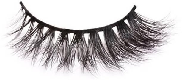 0977d7955b1 Arimika Lash Handmade Thick Wispy 3D Mink False Eyelashes For Makeup 1 Pair  Pack Style D11