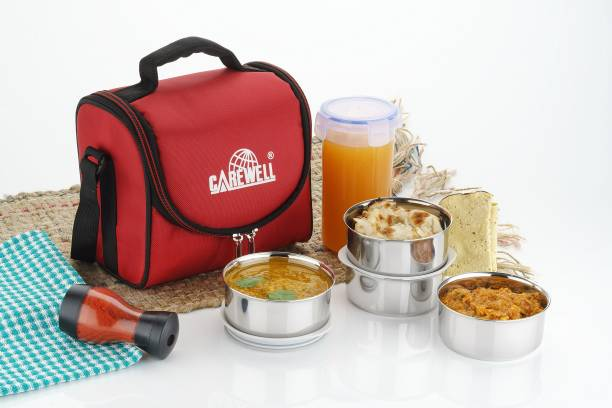 Carewell lunchbox 4 Containers Lunch Box