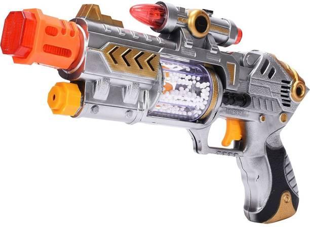 Plutofit Laser Gun with Flashing Light and Sound Toy for Kids Guns & Darts