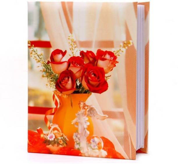 Natraj Studio Memo Screw Type High Quality Photo Album, 100 Pocket, (Photo Size Supported: 4'x6') Album