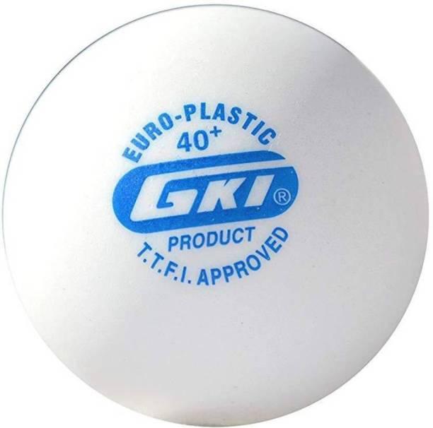 GKI Euro Plastic Table Tennis Ball