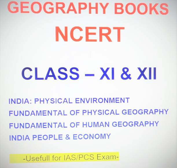 Geography Books (Class - Xi & Xii) Ncert Books