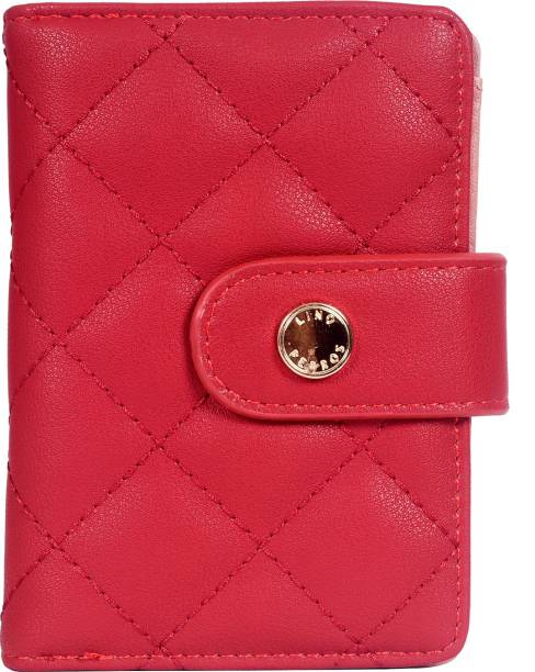 LINO PERROS Women Casual Red Artificial Leather Wallet