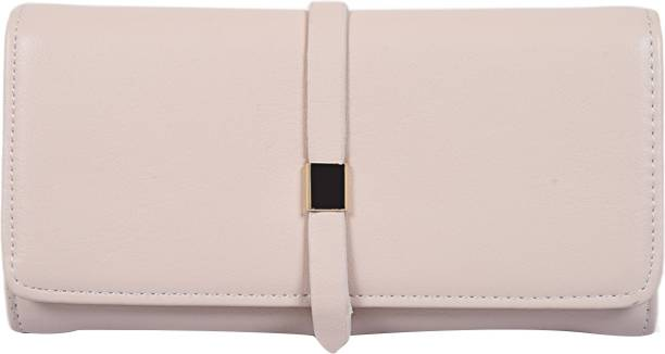 LINO PERROS Women Casual White Artificial Leather Wallet