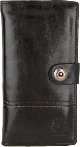 LINO PERROS Women Black Artificial Leather Wallet