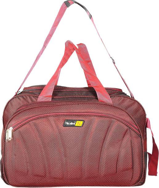 0ae6bb5f3 Nice Line (Expandable) (Expandable) Maroon Polyester 50 litres Inch Travel  Duffle Bag