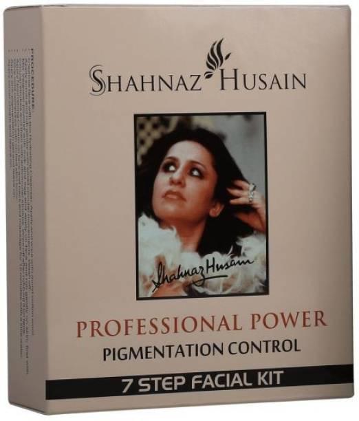Shahnaz Husain 7 STEP PIGMENTATION CONTROL FACIAL KIT (7 x 6.86 g)