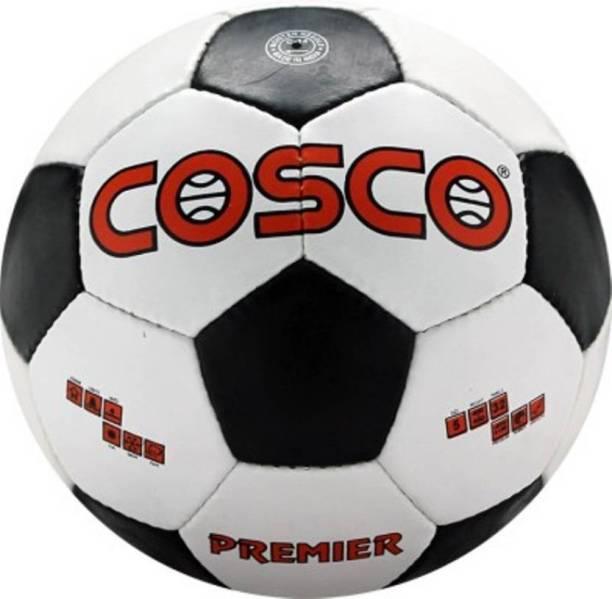 Cosco PREMIER Football   Size: 4 Pack of 1, White, Black
