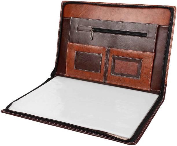 ZesTale Premium Faux Leather Document Folder