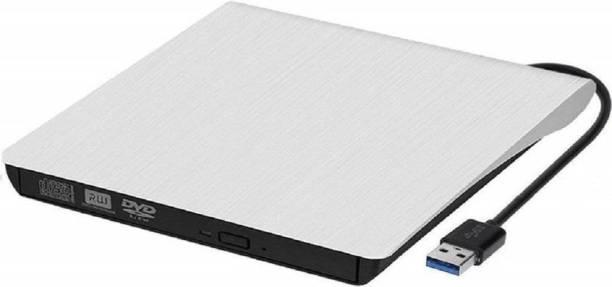 Protokart USB 3.0 External DVD Drive Portable CD DVD +/-RW Drive Slim DVD/CD ROM Rewriter Burner Writer, High Speed Data Transfer for Laptop Desktop Windows 10/8/7 External DVD Writer