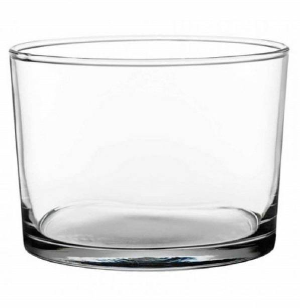 PASABAHCE Pasabahce Bistro Glass Food Container with Lid, 220 ml, Set of 2,Transparent  - 220 ml Glass Grocery Container