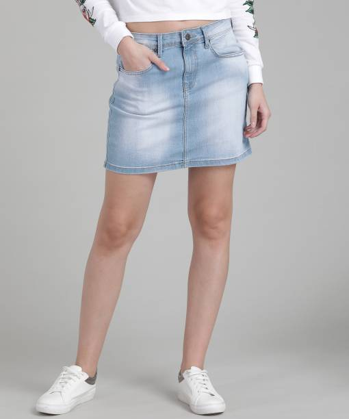 fc22442fec9417 Pepe Jeans Skirts - Buy Pepe Jeans Skirts Online at Best Prices In ...