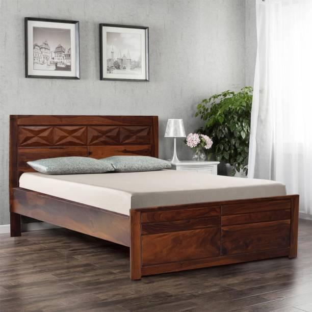 Hometown Sheesham Wood Solid Wood King Bed