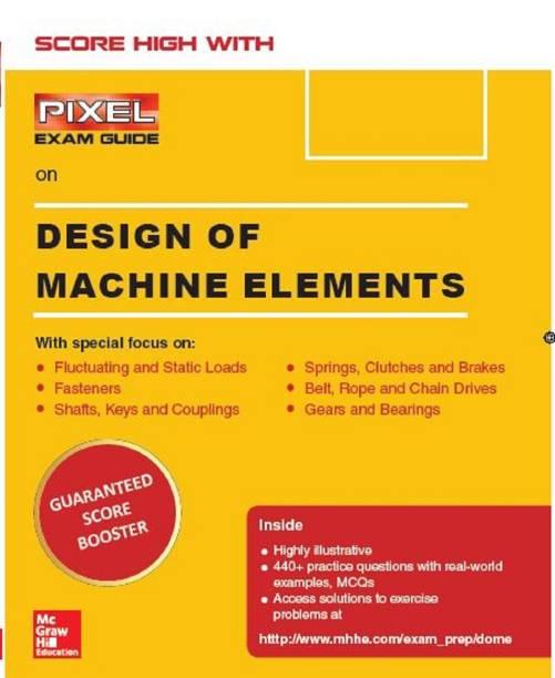 Design of Machine Elements, PIXEL- Exam Guide
