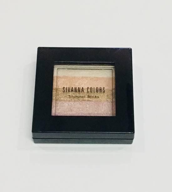 Sivanna PROFESSIONAL SHINING STAR SHIMMER BRICK HIGHLIGHTER 03 Highlighter